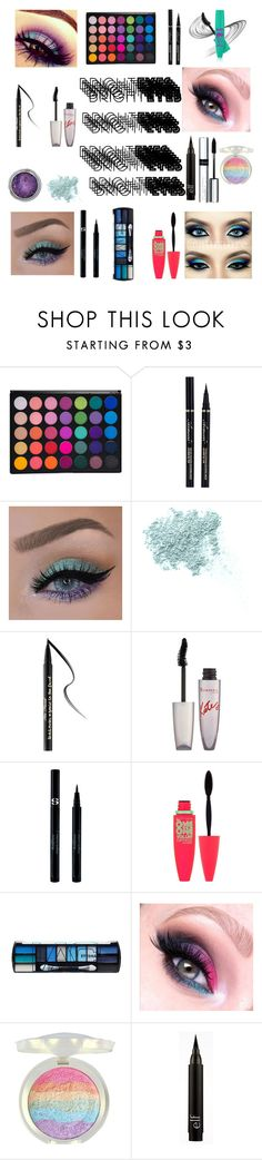 """""""Untitled #33"""" by emmarpage ❤ liked on Polyvore featuring beauty, Bare Escentuals, Too Faced Cosmetics, Rimmel, Sisley Paris, Maybelline, L.A. Colors, By Terry and brighteyes"""