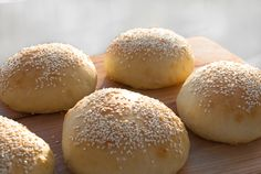 Hamburgerbrød - chezENGH
