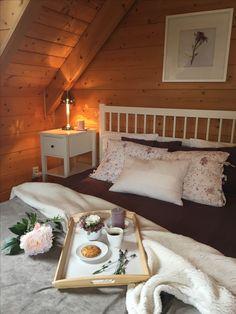 Morning in the Log Cabin