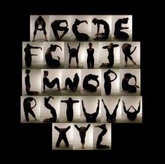 Body Alphabet - Isabel Eeles