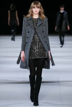 See the complete Saint Laurent Fall 2014 Ready-to-Wear collection.