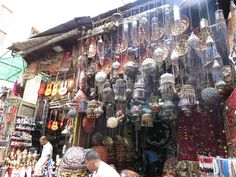 Beautiful things were in abundance in Egypt! They even lined the streets of the place! Some lamps and pretty things in the shops would definitely make you wish you could take them all home!