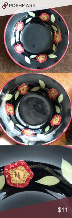 Brand new serving dish Beautiful serving dish, brand new. Microwave and dishwasher safe Park Designs Other
