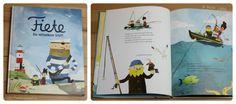 """""""Fiete. Das versunkene Schiff"""" konnte bei uns gross und klein begeistern. Das Bilderbuch besticht durch schlichte, liebevolle Bilder, auf denen es viel zu entdecken gibt, eine abwechslungsreiche und kreative Geschichte und drei charismatische Freunde, die zusammen sogar Pferde stehlen, äh Schiffe heben .... Fiete ist bei uns ein richtiges Highlight, auch wenn wir nicht an der Nordsee leben.  #Rezension #Bilderbuch @bastei"""