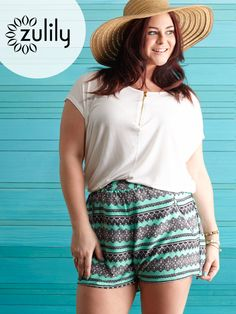 Check out zulily's curated selection of Plus-Size Apparel discounted up to off! Curvy Girl Fashion, Love Fashion, Fashion Looks, Fashion Outfits, Plus Fashion, Summer Outfits, Cute Outfits, Plus Size Fashion For Women, Summer Trends