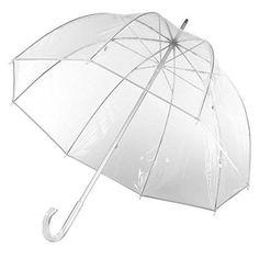 1. Totes Clear Bubble Umbrella