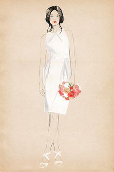 martha stewart weddings by sandra Suy, via Behance