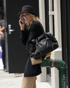 """Judith Light Pictures & Photos - """"Law & Order: Special Victims Unit"""" actress Judith Light is seen chatting on her mobile phone while strolling in New York City"""