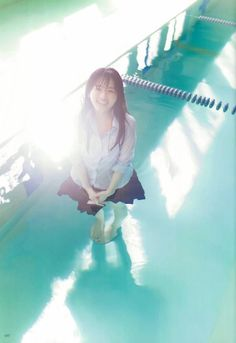What are you doin' up there :D? School Girl Japan, Japanese School, Student Fashion, Girls Uniforms, Cute Asian Girls, Rock, Girl Photography, Asian Beauty, Photo Art