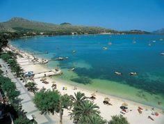 Puerto Pollensa, Majorca  Que tal aquí?
