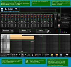 Dr. Drum - Digital Beat Making Software