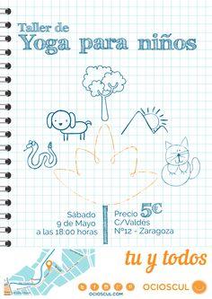 En este taller se introducirá a los niños en la practica del #Yoga guiándolos a través de dinámicas de juegos. #ActividadInfantil