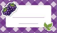Jam label - mulberry Befőzőcímke - szeder