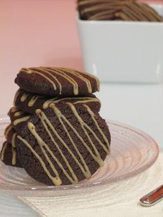 Galletas de chocolate y café