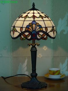 Baroque Tiffany Lamp	12S6-1T327
