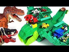 Power Rangers Uchuu Sentai Kyuranger VS Doubutsu Sentai Zyuohger transform! - DuDuPopTOY - YouTube Power Rangers Toys, Dinosaurs, Track, Storage, Cake, Youtube, Clearance Toys, Purse Storage, Runway