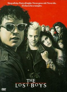 The Lost Boys (1987) R - The Frog Brothers movie. Also there's some vampires and whatnot.