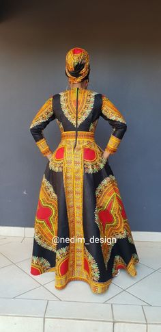 Really like these traditional african fashion 0685 African Print Dresses, African Print Fashion, African Fashion Dresses, African Dress, African Attire, African Wear, African Women, Nigerian Outfits, African Fashion Traditional
