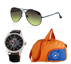 Buy Lotto Watch- Just Colors Sunglass- PPC Bag Supersaver Combo @ 949