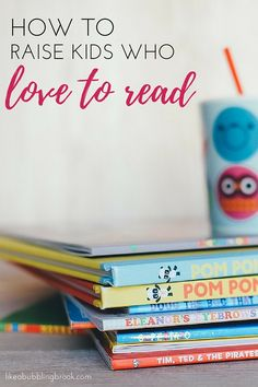 How to Raise Amazing Kids Who Are Voracious Readers. Here are 4 ways you can inspire reading and a love for books with your kids - from a mama who was raised to love books and has passed that love along to her kids, too. You can do this! You can make small changes today! Here's how to raise kids who love to read >>