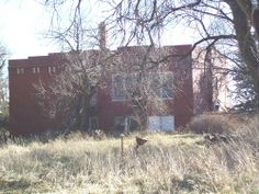 Hollenberg School, KS School's Out Forever, Old School House, Creepy Stuff, High Schools, Close To Home, Ghost Stories, Ghost Towns, Abandoned Places, Ghosts