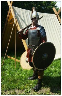 Varangian warrior IX-X century.  Son Of Midgard