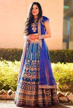 20 Real Brides who rocked an Anita Dongre Lehenga | Fashion | WeddingSutra.com