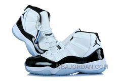quality design e6547 e2dee Nike Air Jordan 11 Womens 2014 White Blue Shoes Black Friday Deals