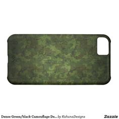 Dense Green/black Camouflage Design iPhone 5C Case