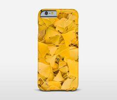 Phone Case Of Ginko Biloba Leaves  Phone decor  by Macrografiks