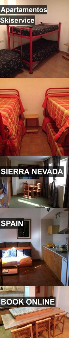 Hotel Apartamentos Skiservice in Sierra Nevada, Spain. For more information, photos, reviews and best prices please follow the link. #Spain #SierraNevada #travel #vacation #hotel