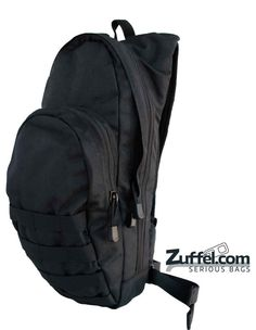 Condor Hydration Pack - Black Description - Ready to take a hike, go hunting/fishing, or ride your bike without dehydrating and leaving your essentials at home? The Condor Hydration Pack 124 is for you. This is the perfect little, durable companion bag. The pack is sturdy enough to take all you can give it. Get it at http://zuffel.com/collections/hydration-packs/products/hydration-pack-black