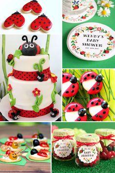 Lady Bug Party Inspiration | The Evermine Blog | www.evermine.com