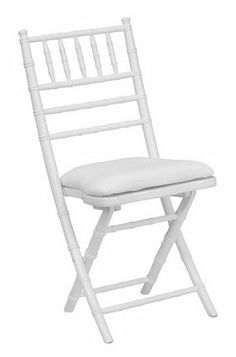 Chiavari Folding Chair.  Only thing I don't like, it has the crappy little seat like the smaller white wood chairs do.