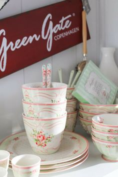 GreenGate new collection coming soon~  I want this in the USA for an inexpensive price!