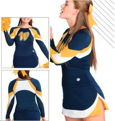 Top selection of Cheerleading Uniforms at Team Budget Pricing. Free lettering on all custom uniforms! All Star Cheer Uniforms, Cheerleading Uniforms, Cheer Shoes, Cheer Outfits, Fabric Samples, Star Fashion, Dance Wear, Cheers, Wetsuit