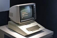 Apple II (1977) | on display at Museum of The Moving Images, NYC