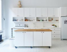 7 Portable Kitchen Island Design Ideas For Your Home Designed by B Sherman Workshop Photography by James Ransom Portable kitchen islands are a great way to add extra counter nbsp hellip Charles Wulff Petersen Ransom Harpman Roymans Portable Kitchen Cabinets, Moveable Kitchen Island, Mobile Kitchen Island, Narrow Kitchen Island, Kitchen Island On Wheels, Kitchen Island Table, Farmhouse Kitchen Island, Modern Kitchen Island, Small Space Kitchen