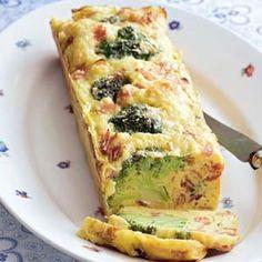 Recept voor Hartige Broccoli cake