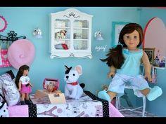 American Girl Doll Grace's Bakery Bedroom! ~ HD Watch in HD! - YouTube