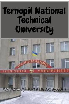 Ternopil Ivan Pului National Technical University is a university in Ternopil, Ukraine. Ternopil Ivan Puluj National Technical University – the leading higher technical educational institution in Western Ukraine, founded in 1960. #TernopilNationalTechnicalUniversity Technical University, Founded In, Ukraine, Education, Building, Buildings, Onderwijs, Learning, Construction
