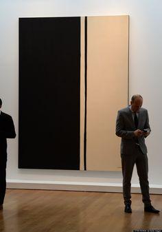 «Чёрный огонь I», Барнетт Ньюман (1961) – 84 200 000 долларов