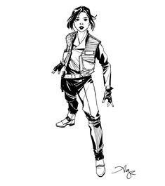 Jyn Erso by Amy Reeder