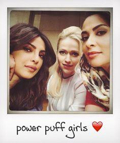 Priyanka, Johanna and Yasmin