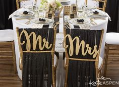Classic Wedding Inspiration | Black and White Striped Wedding Decor | Deco Wedding Style | Black White Blush Gold | Classic Favor & Decor Collection by Kate Aspen
