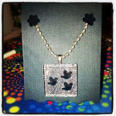 Glitter pendant by Kate
