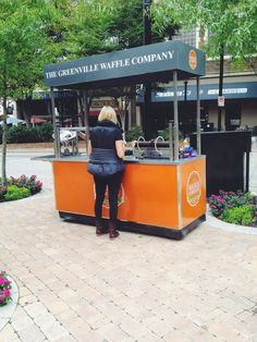 Waffle Cart in NOMA Square