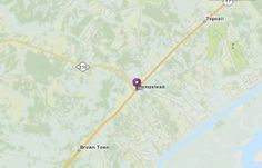 Location of Hampstead, NC