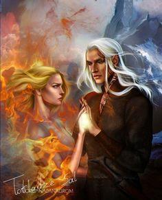 Aelin e Rowan