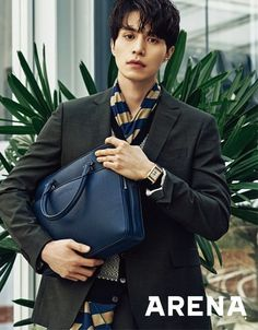 Lee Dong Wook graced the cover of 'Arena Homme Plus's March issue!For his pictorial, Lee Dong Wook dressed in classy dress shirts, dress pants, suit c… Lee Dong Wook, Ji Chang Wook, Korean Star, Korean Men, Asian Men, Asian Actors, Korean Actors, Korean Dramas, Park Bo Gum